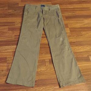 American Eagle Outfitters Distressed Flare Pants
